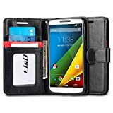 J&D Case Compatible for Moto Droid Turbo 2 Case, Moto X Force Case, [Wallet Stand] [Slim Fit] Heavy Duty Protective Shockproof Flip Wallet Case for Motorola Moto Droid Turbo 2 (Verizon) Wallet Case