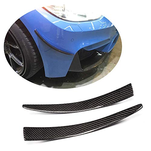 MCARCAR KIT Front Bumper Vents fits BMW F80 M3 Sedan F82 M4 Coupe F83 M4 Convertible 2014-2019 Factory Outlet Carbon Fiber CF Air Fender Spoiler Protector Winglets Splitter Cover Trims