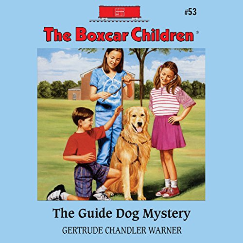 The Guide Dog Mystery audiobook cover art