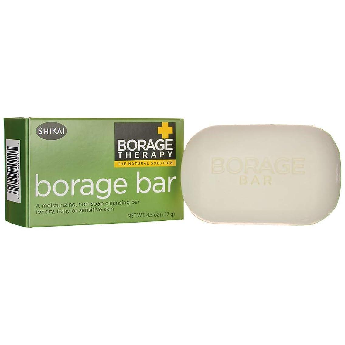 Shikai, Soap Borage Bar, 4.5 Ounce