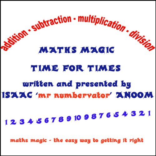 Maths Magic audiobook cover art
