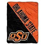 The Northwest Company Oklahoma State Cowboys 'Halftone' Micro Raschel Throw Blanket, 46' x 60' , Orange