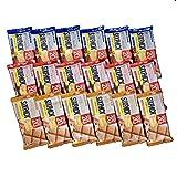 UHA味覚糖 SIXPACK プロテインバー 全3種 各6個の計18個アソートセット (チョコレート・キャラメルピーナッツ・クランベリー) 栄養補給食品シックスパック