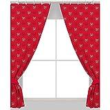 Arsenal 54' Drop Curtains Crest Design Poly/Cotton