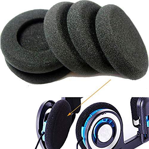 6 almohadillas de espuma para auriculares Sony Sennheiser Philips AKG para auriculares Koss Porta Pro PP PX100 de espuma suave, 6 unidades