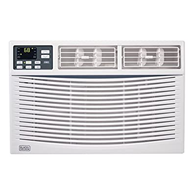 BLACK+DECKER BWAC06WT 6,000 BTU ENERGY STAR Electronic Window Air Conditioner with Remote