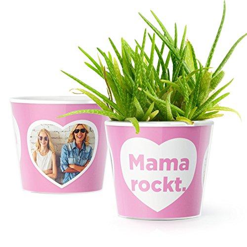 Mama rockt Blumentopf