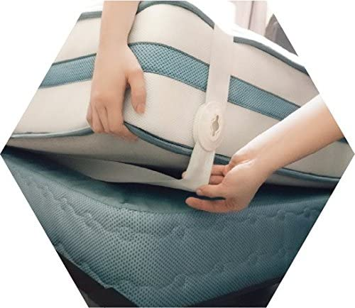SheetLock Arlington Mall Bed Cheap sale Sheet Fastener Set- Holders Premium K to