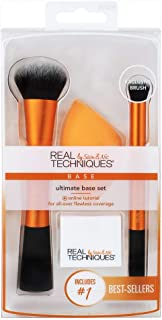 Real Techniques Ultimate Base Set with Face Brush, Miracle Sponge, Concealer Brush and Sponge Stand