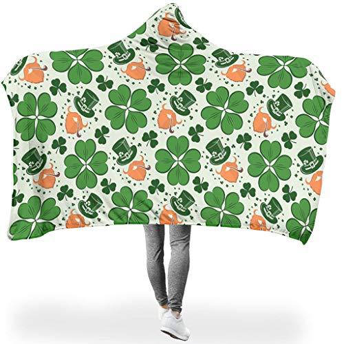 Ainiteey mooie hoodie wearable super soft throw blanket wikkelen voor thuisbank in de lente of herfst of winter, prachtige stijl