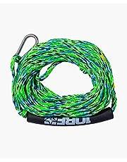 Jobe Cable retráctil para 2 Personas, Verde, Cordage REMORQUABLE 2 PERSONNES