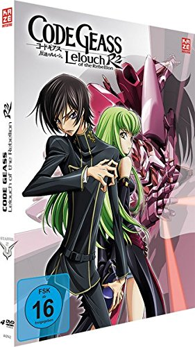 Code Geass: Lelouch of the Rebellion R2 - Staffel 2 - Gesamtausgabe - [DVD] - Mediabook