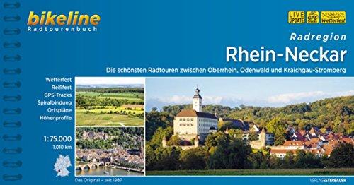 Radatlas Rhein-Neckar: Radwandern im Rheintal, im Odenwald und im Kraichgau-Stromberg. 975 km: Die schönsten Radtouren zwischen Oberrhein, Odenwald ... 1.010 km (Bikeline Radtourenbücher)