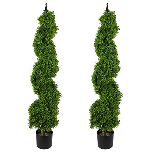 Houseables Artificial Boxwood Topiary