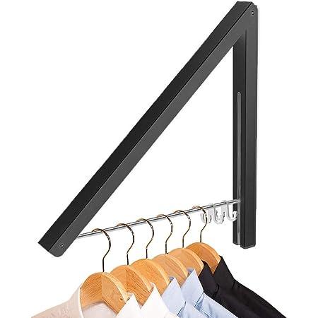 Kleiderhaken Klappbar Wand Kleiderständer Wäscheständer Kleiderstange