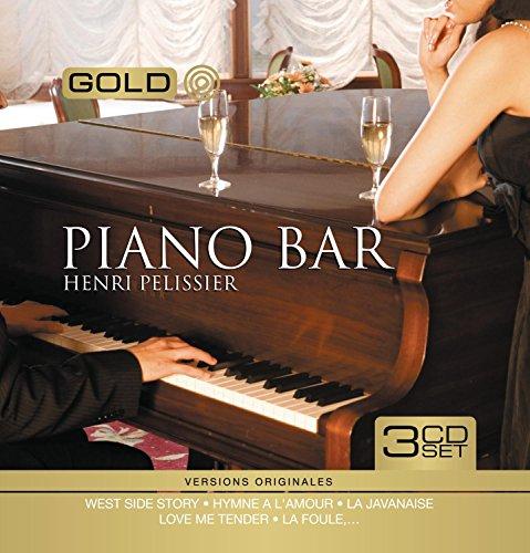 Gold Metal Box Piano Bar