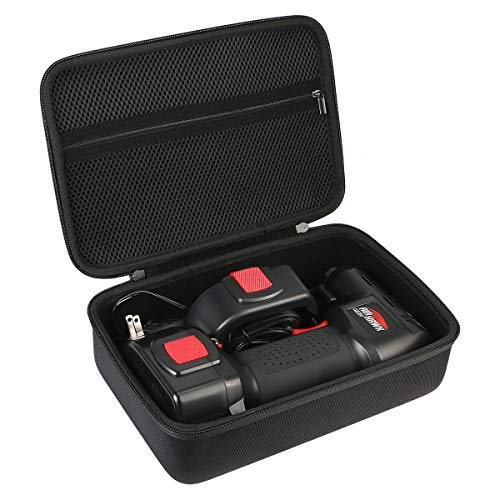 Khanka Hard Travel Case Replacement for ONTEL/Oasser Air Hawk Pro Automatic Cordless Tire Inflator Portable Air Compressor
