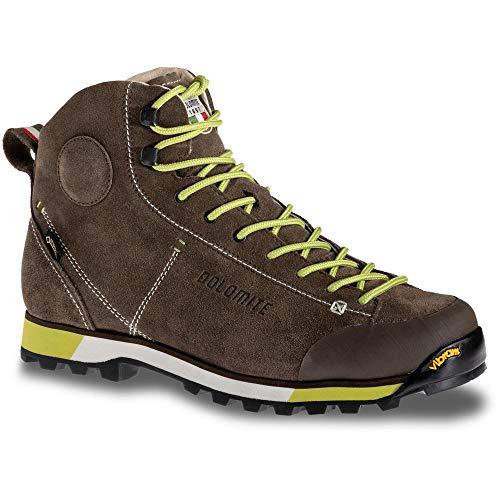 Dolomite, Bota Cinquantaquattro Hike GTX para Hombre, Mud/Green