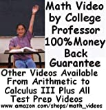 ACT Math DVDs by College Math Professor-Over 8 Hours http://www.amazon.com/shops/math_videos