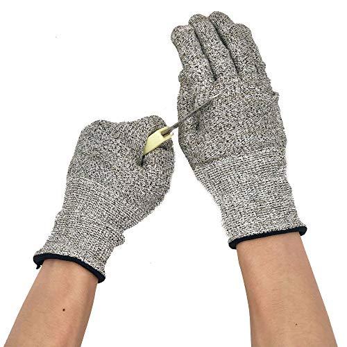 Buy-To Snijbestendige handschoenen HPPE EN 388 ANSI Level 5 Veiligheid Werkvast vlees Groente fruit keuken