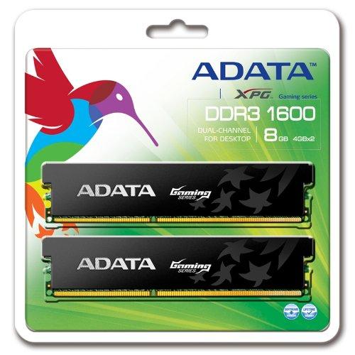 A-Data AX3U1600GC4G9-2G PC1600 8GB Arbeitsspeicher (DDR3, CL9, XPG G Series 2X 4GB Kit) Retail