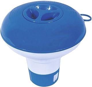 Ogquaton Distributeur de Produits Chimiques pour Piscine, 5 Pouces, Bleu