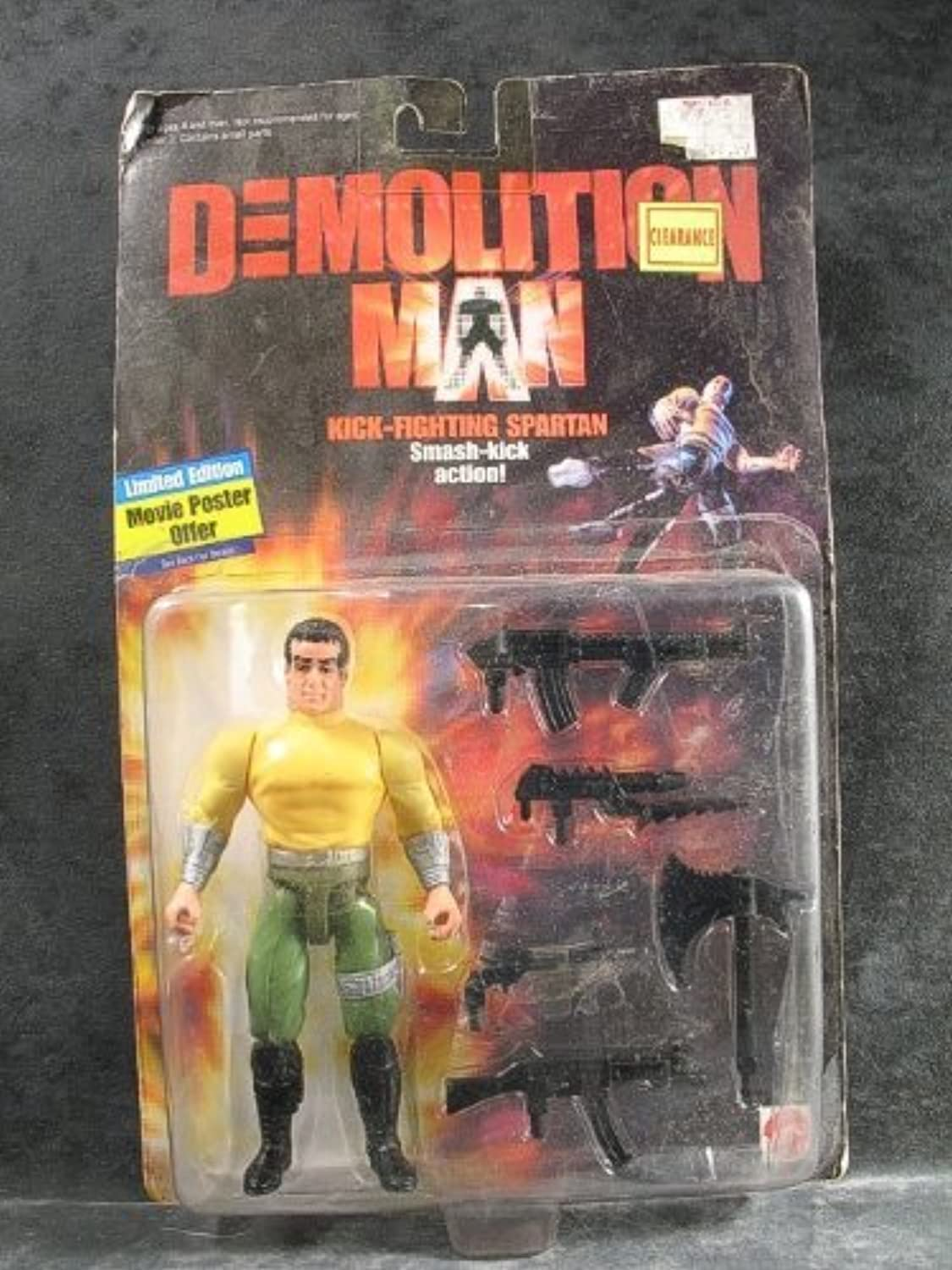 Demolition Man KickFighting Spartan Action Figure