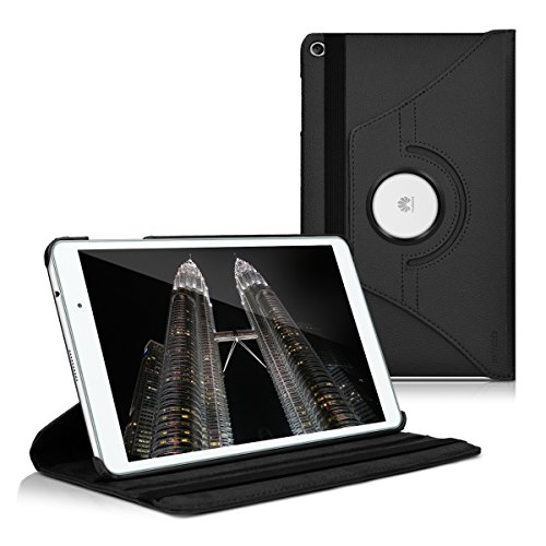 huawei tablet t2 10 pro kwmobile Cover Compatibile con Huawei MediaPad T2 10.0 PRO - Custodia per Tablet Rotazione 360° Stand Similpelle - Protezione Tab Pad