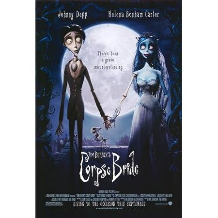 Tim Burtons Corpse Bride 2005 Movie Silk Poster 13x30 inch