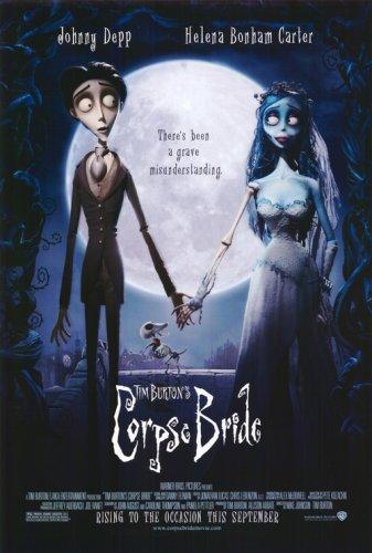 Pop Culture Graphics Corpse Bride 27x40 Movie Poster