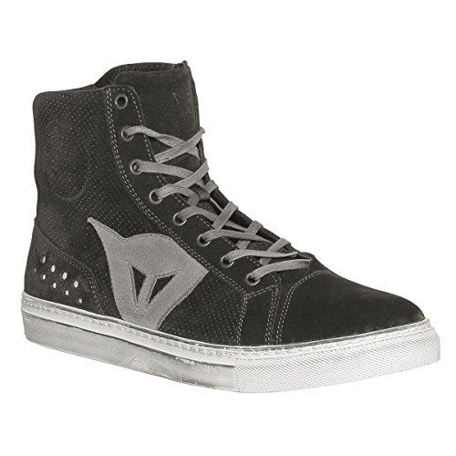 Dainese-STREET BIKER D-WP Schuhe, Schwarz/Anthrazit, Größe 43