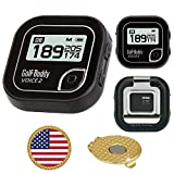 Golf Buddy Voice 2 Golf GPS/Rangefinder Bundle with Ball Marker and...