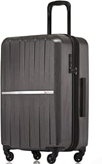 QANTAS Bondi 4 Wheel Trolley Suitcase, Silver, 67cm
