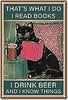 レトロおかしい金属錫サイン12x 16インチ(30 * 40 cm)子猫 ブリキ看板警告通知パブクラブカフェホームレストラン壁の装飾アートサインポスター(gs-1-140)