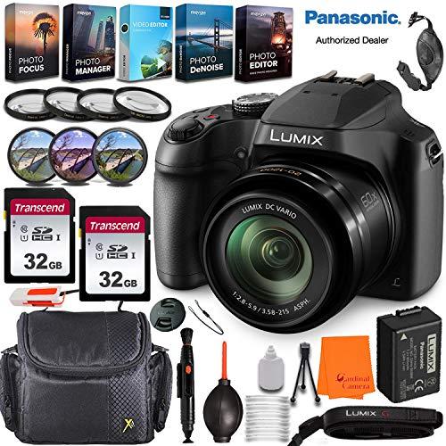 Panasonic Lumix DC-FZ80 Digital Camera with...