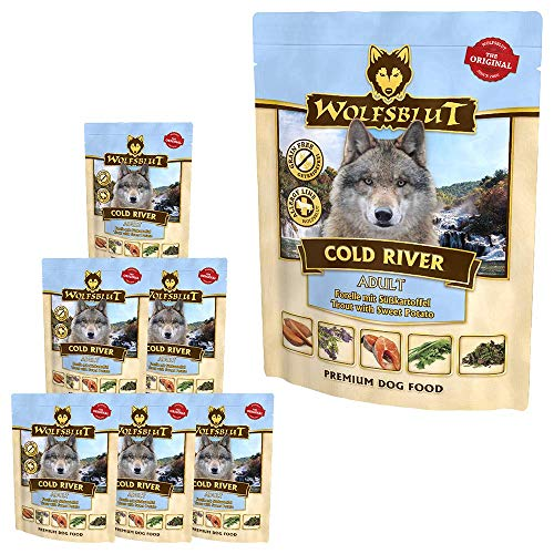 Wolfsblut Cold River Nassfutter Pouch 7x300 g