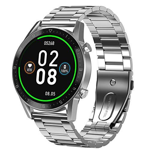 1.3'Pulsera Inteligente Bluetooth Calling Business Smart Watch Ritmo cardíaco Detección del sueño Deporte Podómetro Impermeable SmartWatch (Color: B)