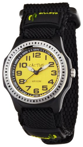 [カクタス] キッズ腕時計 CAC-45-M10 正規輸入品 ブラック