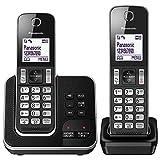 Panasonic KX-TGD322EB Cordless Home Phone with Nuisance Call Blocker and Digital Answering Machine