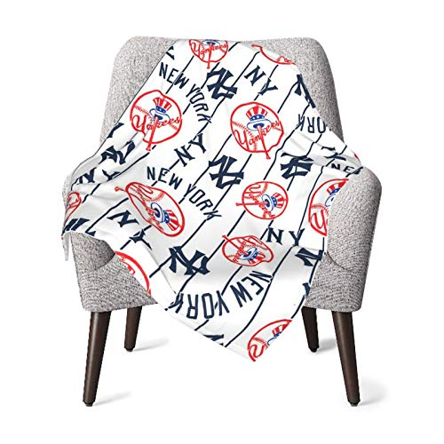 New York Yankees Rest-Eazzzy Flannel Blanket Or Fluffy...
