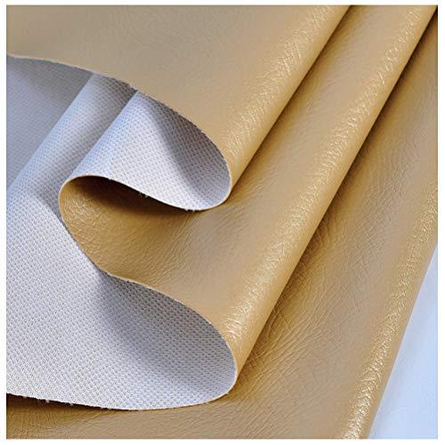 Cuero Sintético Perla Suave Cuero Sintético Brillante PU Tela de Cuero Sintético para Bolsos Artesanías Pendientes con Lazo Material para Hacer Manualidades(Size:1.38x10m)