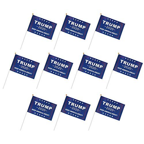 Batterymart Donald Trump (Hand Flag) -  Donald Trump-E