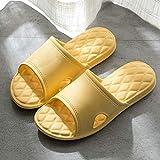 LNLJ Zapatos de mujer de piel, zapatillas cómodas, sandalias retro con suela suave y zapatillas-gris_41