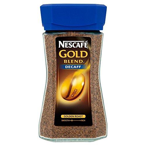 Nescafé - Gold Blend - Café descafeinado soluble - 100 g - Pack de 2 unidades