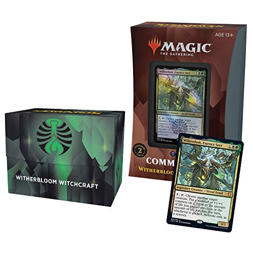 Magic The Gathering Strixhaven Commander Deck - Witherbloom (Black-Green)