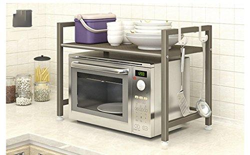 ZXL Opbergkast voor keuken, oven, magnetron, vloerhouder, keuken, rijstkoker, multifunctioneel, goede hulp, keuken, cadeau, keuken