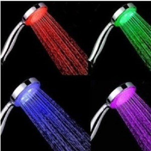 kirinstores (TM) 7 couleurs LED Douche de tête douchettes de Salle de Bain