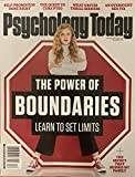 PSYCHOLOGY TODAY - DECEMBER 2019 - THE POWER OF BOUNDARIES