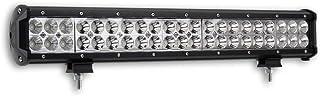 1x LED Fernscheinwerfer Scheinwerfer Light Bar 20' 50,5cm 126 Watt 42x CREE LED Super Hell mit ECE Zulassung Eintragungsfrei Straßenzulassung~