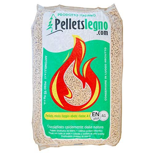 PelletsLegno Enplus A1 - IT 005 Ideale per tutte le stufe e caldaie a pellets